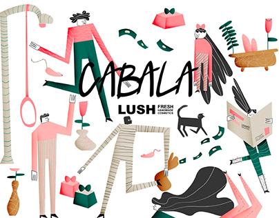 Cabala LUSH l Visual Identity