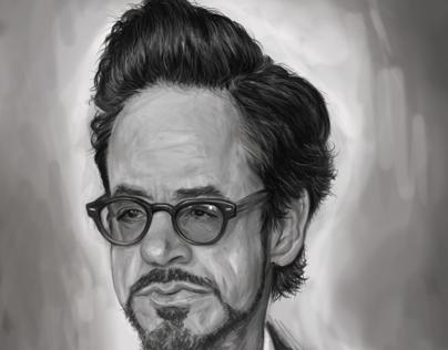 Downey Jr. Digital Illustration