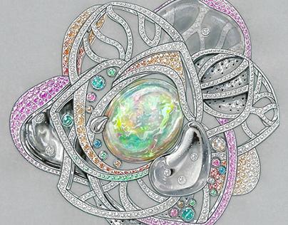Jewelry Gouache
