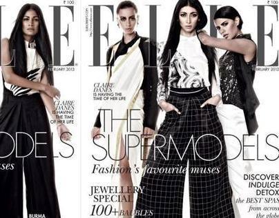 Elle Fashion-The Supermodels-FEB 2013
