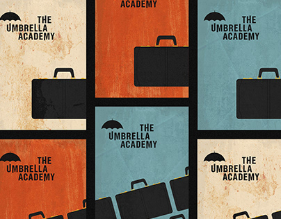 The Umbrella Academy • Minimalist Poster