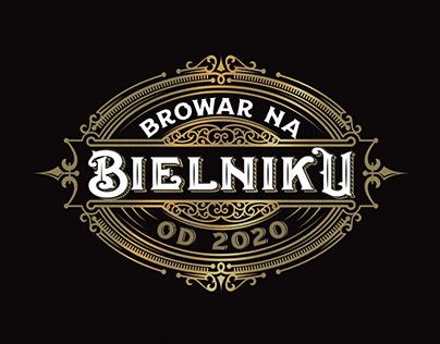 Browar na Bielniku - logo design