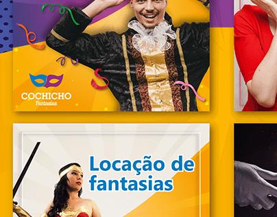 Social Media - Cochicho Fantasias