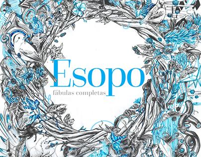 Esopo - Projeto gráfico e Ilustrações