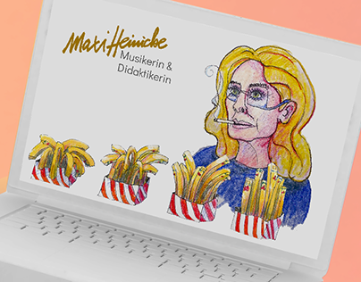 Animated & illustrated Website for Music Didact