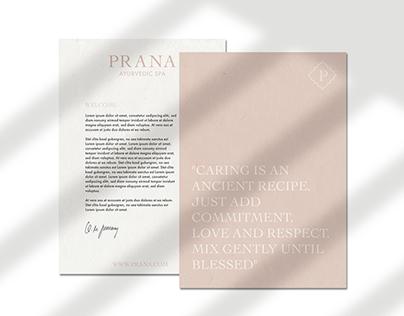 PRANA - AYURVEDIC SPA / REBRANDING, LOGO DESIGN