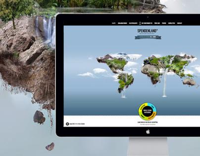 SPENDENLAND | Website