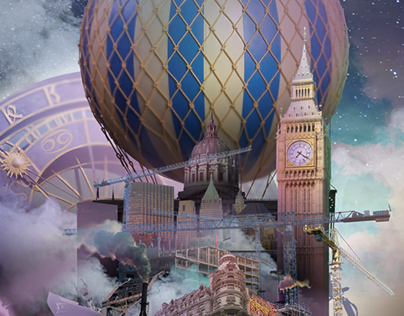 Dream City - Photo Collage