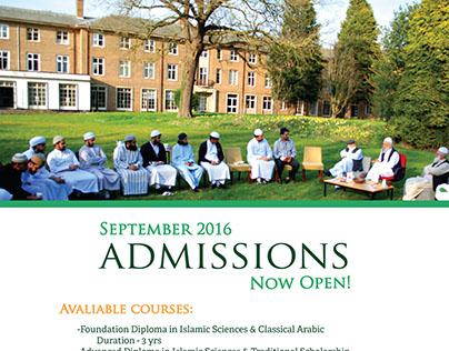 Admissions - Jamia al-Karam