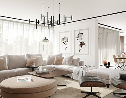 Professional 3D Rendering for a Gorgeous Interior