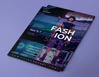 Fashion & holiday flyer