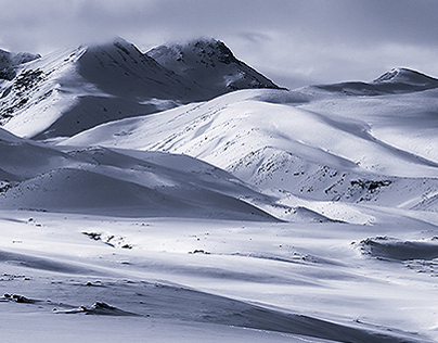 Waves of Aragats mountain