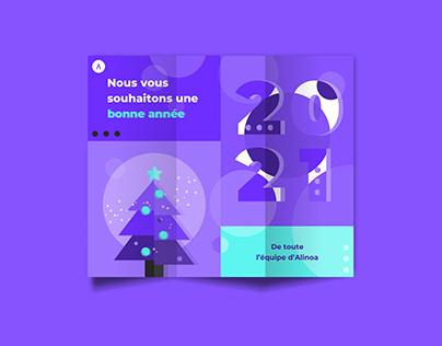 Carte de voeux | Alinoa