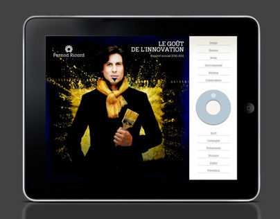 Pernod Ricard /Rapport Annuel 2011 [iPad]