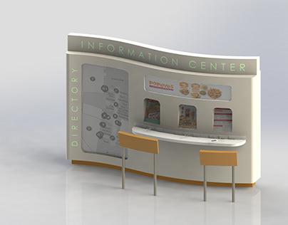 Mall Information Center Kiosk Concept