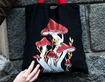 Shopper Bag 'Mushrooms'