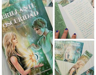 "Illustation for the fantasy book ""Brillante Oscuridad"""