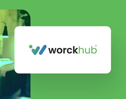 Worckhub Logo Design