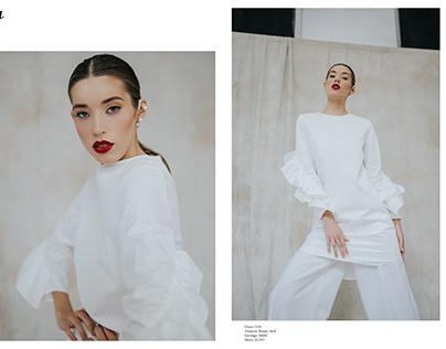Stylization featured in Shuba Magazine