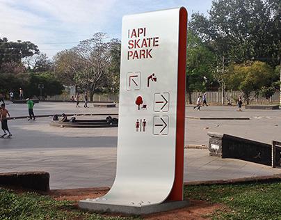 IAPI Skate Park / Wayfinding