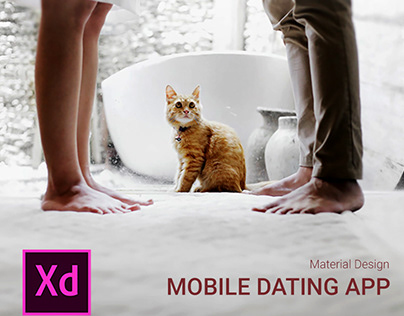Mobile Dating App (Material Design)