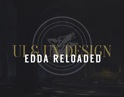 Edda Reloaded: Gotterkind -Website design-