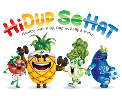 HIDUP SEHAT (Hilly, Duppy, Selly & Hatty)