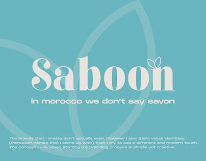 Saboon brand design