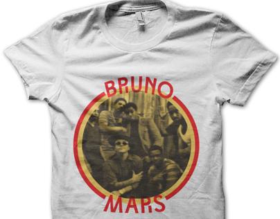 Bruno Mars T-shirt Design