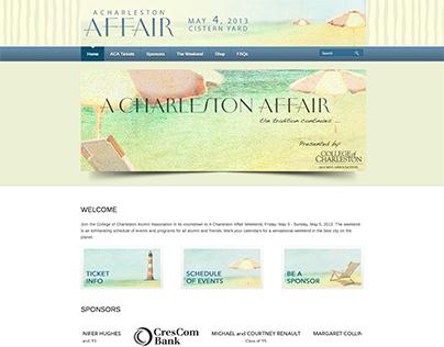 A Charleston Affair website