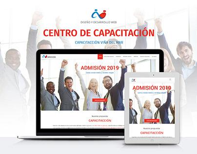 Sitio web Centro de Capacitación