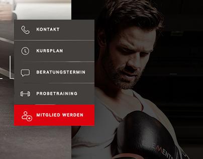 Elements Gym - Website Relaunch