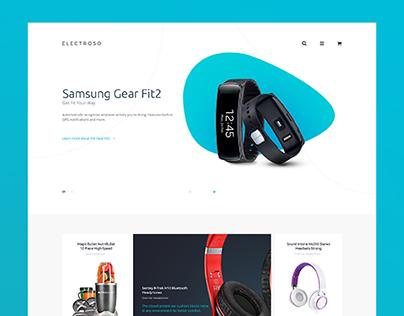 Electroso - Electronic Shop