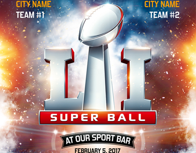 American Football Super Ball Flyer vol.4
