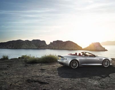 Aston Martin DB9, photographer René Staud