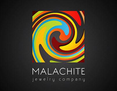 Malachite jewelery jewellery logo logotype design art