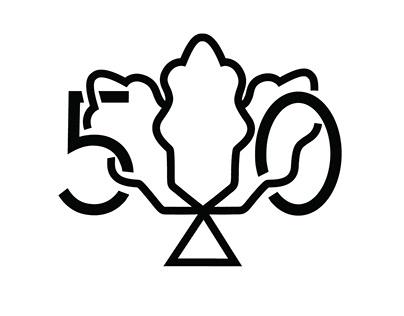 Dzielnica Wesoła Logo jubileuszowe