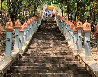 Sakyaminu Chedai Royal Palace, Cambodia, March 2019