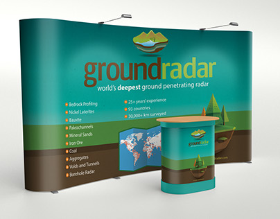 Ground Radar Trade show Designs