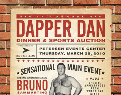 DAPPER DAN DINNER