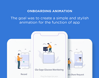 Onboarding Illustrations Animation