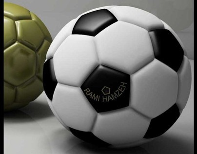 FOOTBALL (RENDER AND MODELING)
