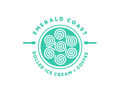 Emerald Coast Rolled Ice Cream