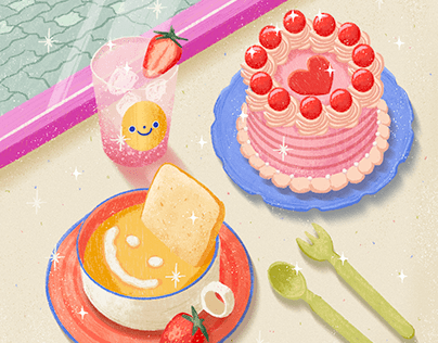 Lunch • Illustration