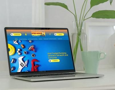 Web Design for Halpin Plumbing Pty Ltd