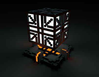 Mysterious Objects - voxel art experiments