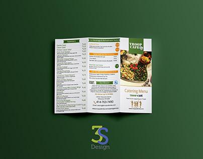 Catering Menu Redesign