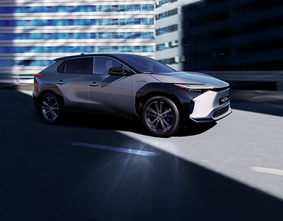Toyota BZ electric concept