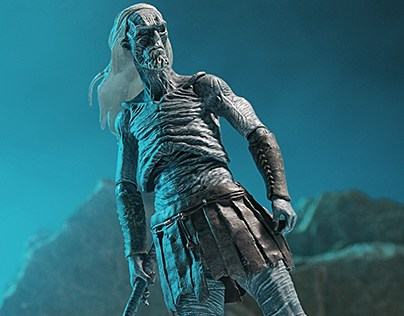 White Walker action figure - Game of Thrones