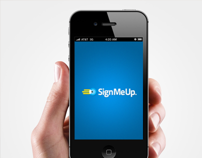 SignMeUp Mobile Application